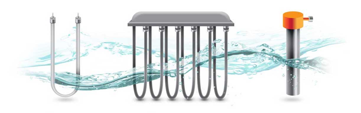 Heaters for electroplating baths